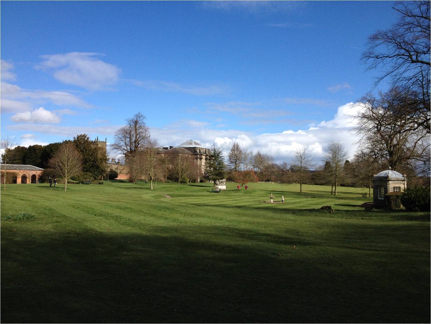 The grounds of Kedleston Hall