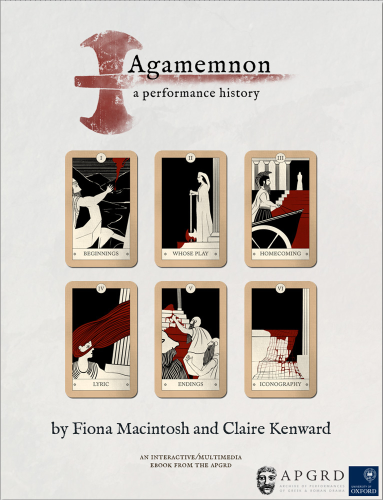 Front cover to Agamemnon, a performance history