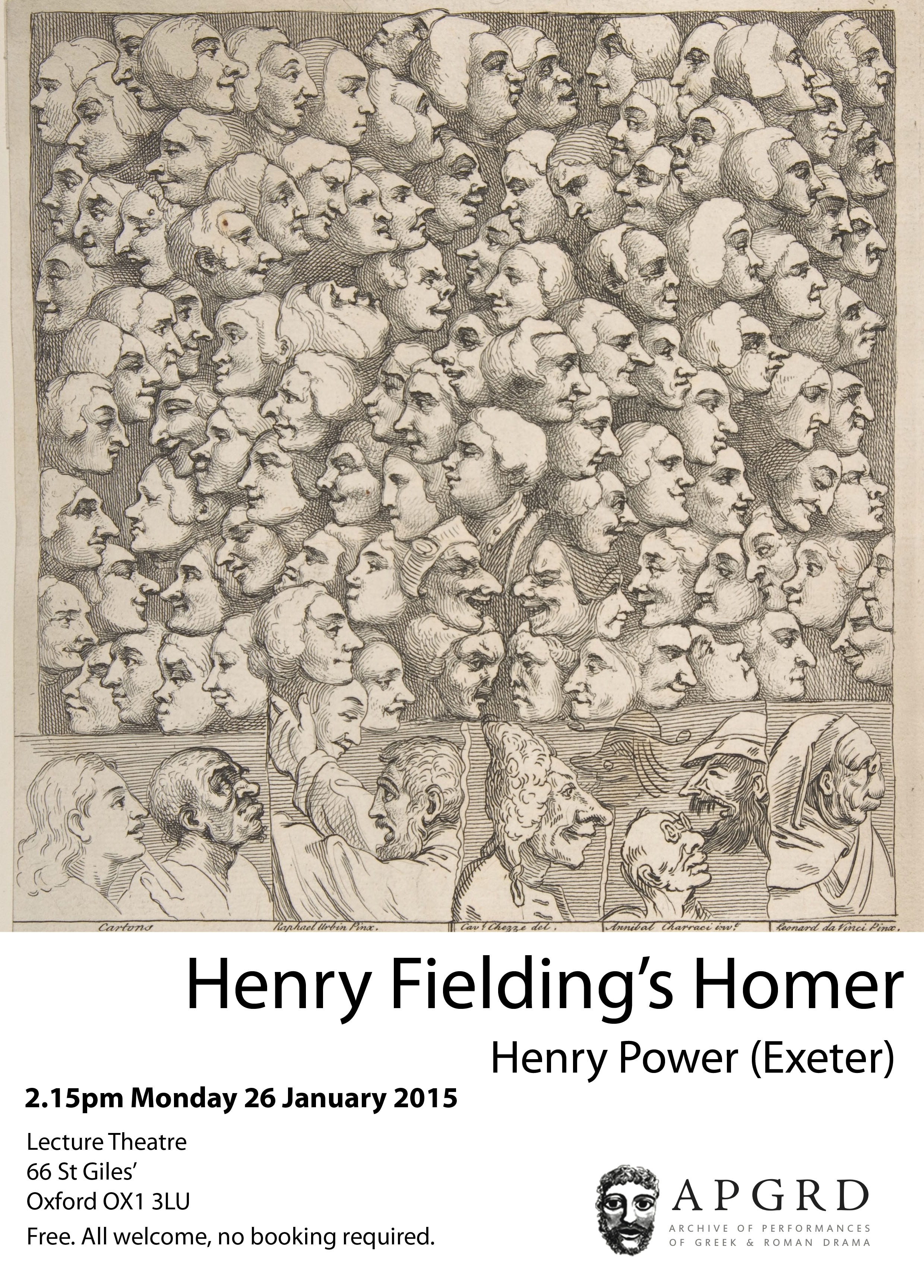 Poster for Henry Power event