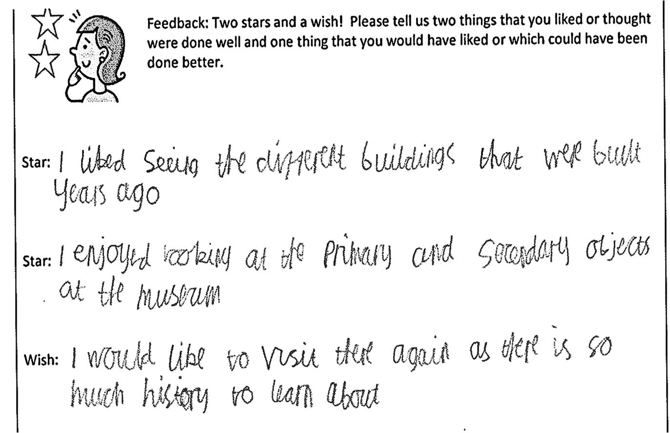 Children's Feedback