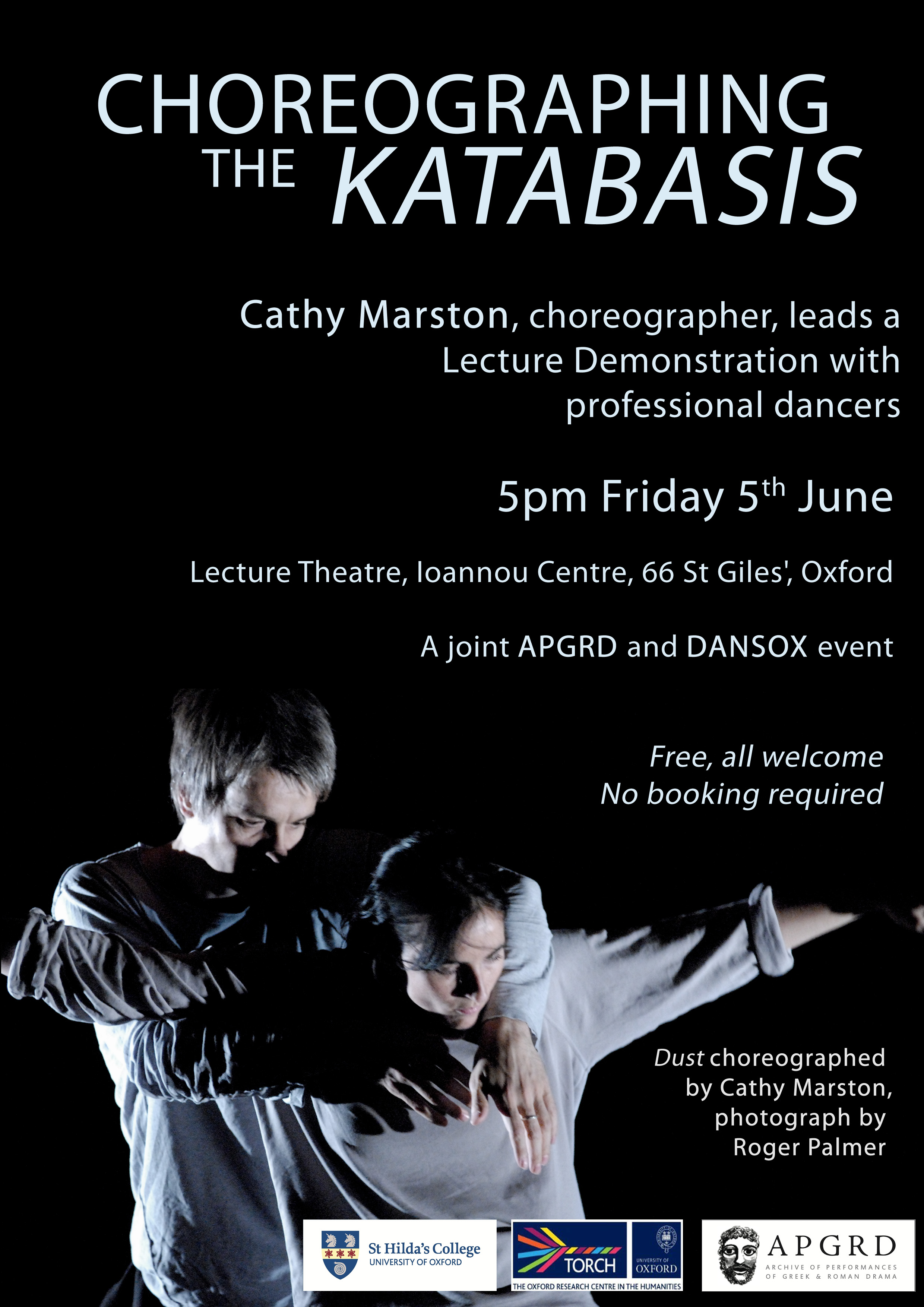 Poster for katabasis event
