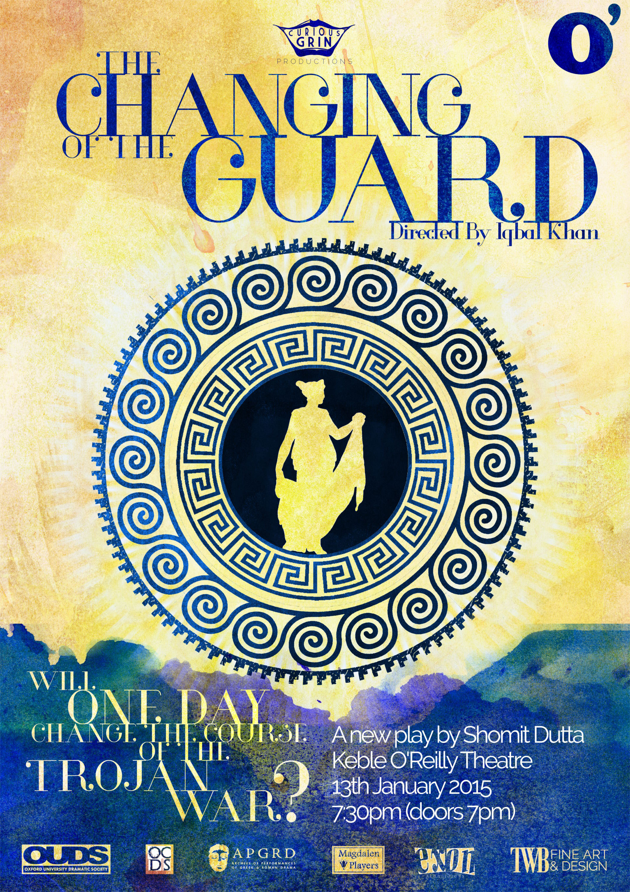 Poster for Changing of the Guard event