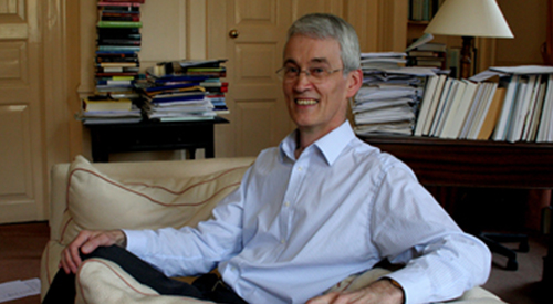 Photograph of Peter Brown, links to blog post