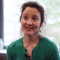Portrait photograph of Marie-Louise Crawley
