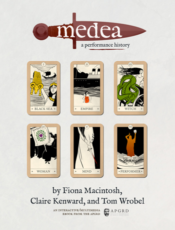 front cover to Medea, a performance history