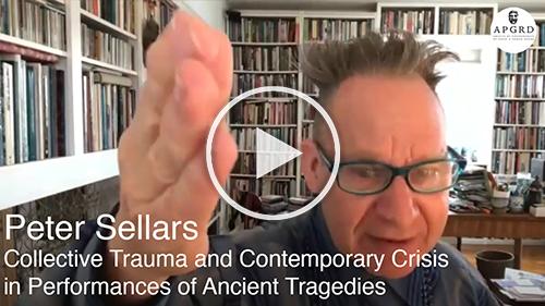 Screenshot of Peter Sellars, linking to YouTube