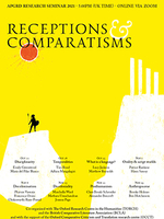 Poster for APGRD Seminar Series 2021: Receptions & Comparatisms
