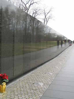 Memorial wall Washington