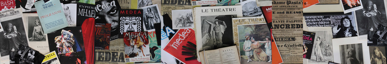 APGRD archive items relating to numerous productions of Medea