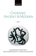 Front cover to the book Choruses, Ancient and Modern