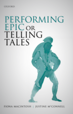 Front cover of the book Performing Epic or Telling Tales