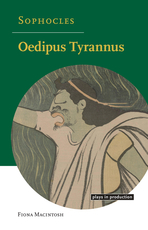 Front cover of the book Oedipus Tyrannus by Fiona Macintosh