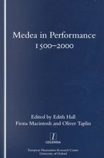 Front cover of Medea in Performance, 1500-2000