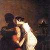 Dibutade ou l'Origine du dessin - by Joseph-Benoît Suvée, circa 1791