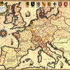 sixteenth century map of Europe