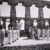Panathenaea at the ancient temple of Paestum, 1936 © INDA