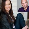 Head-shots of Marina Carr and Patrick O'Kane