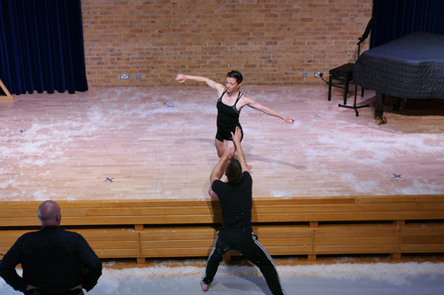 Dancing With Apollo Workshop: Dancers Liam Riddick and Laurel Dalley-Smith